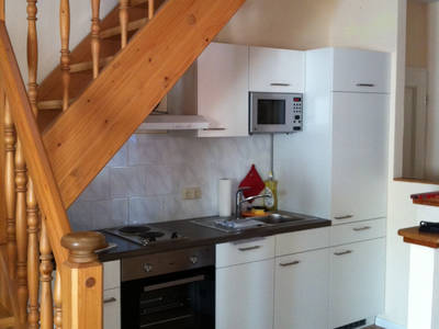 Küche - Dachgeschoss Wohnung Fux Altstadt Appartements