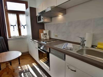 Küche - Fux Altstadt Appartments Augsburg