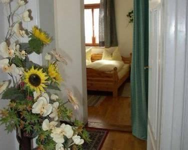 Schlafzimmer Nr. 2 - Apartment mit 3 Schlafzimmern - Fux Altstadt Appartements Augsburg