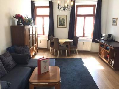 Wohnbereich - Apartment mit 3 Schlafzimmern - Fux Altstadt Appartements Augsburg
