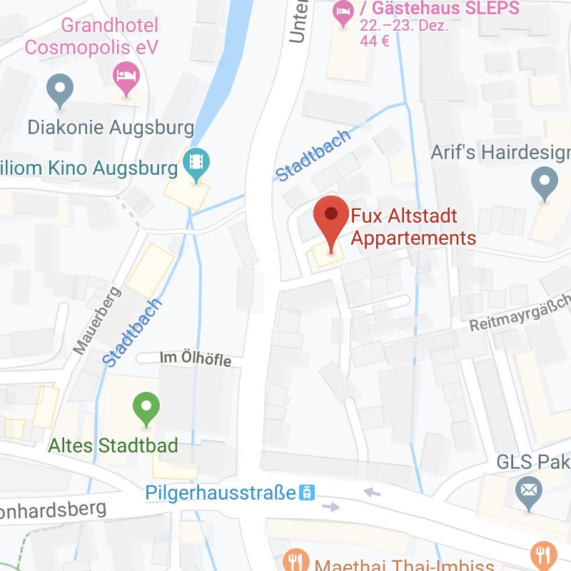 Fux Altstadt Appartements - Stadtmitte