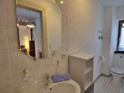 Badezimmer - Apartment mit 1 Schlafzimmer - Fux Altstadt Appartments Augsburg