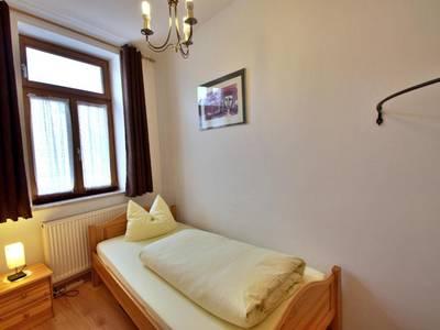 Schlafzimmer - Apartment mit 1 Schlafzimmer - Fux Altstadt Appartments Augsburg